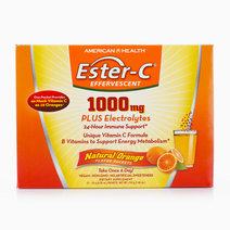 Ester-C Effervescent - Natural Orange Flavor (1,000 mg, 21 Packets) by American Health