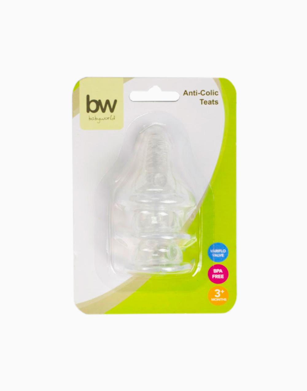 BW Anti-Colic Teats 3 pcs (17) by BabyWorld PH