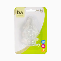 BW Anti-Colic Teats 3 pcs (17) by BabyWorld PH
