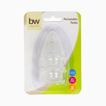 BW Peristaltic Teats 3pcs (16) by BabyWorld PH