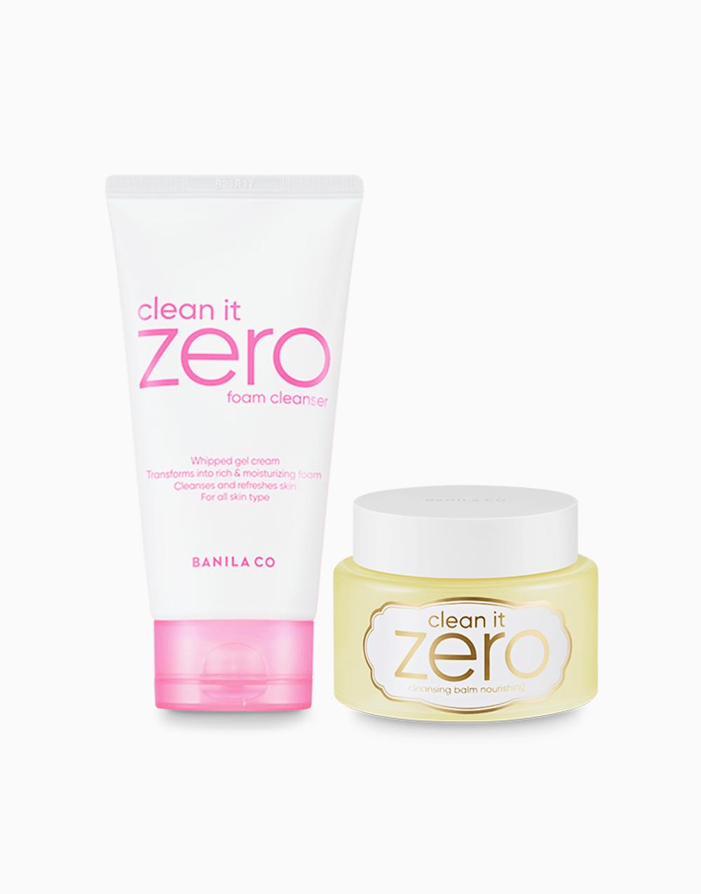 Clean It Zero Double Cleansing Duo Macaron Edition (Nourishing) by Banila Co.
