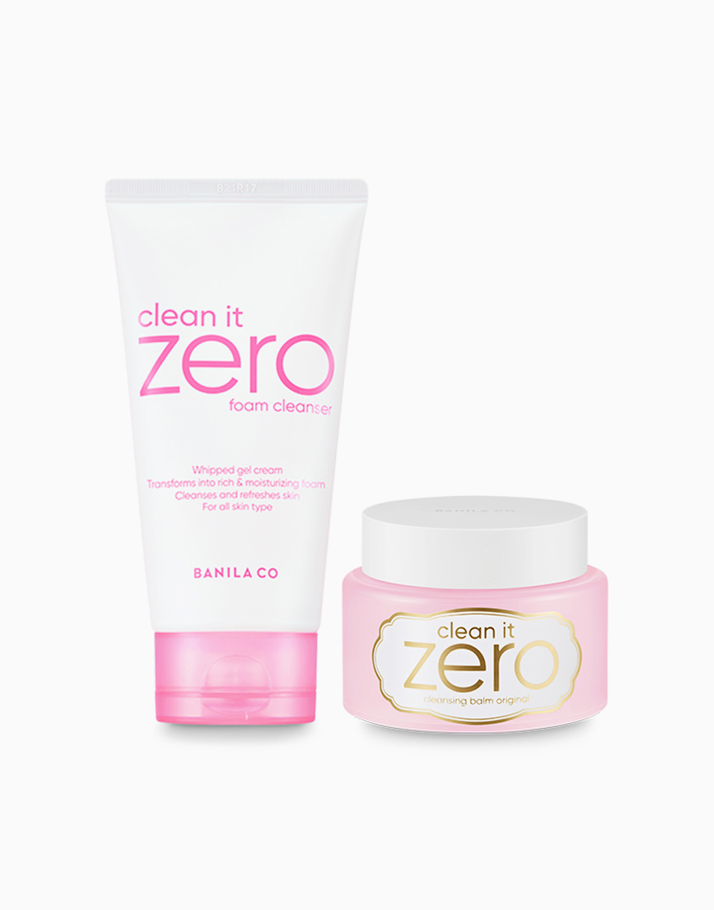 Clean It Zero Double Cleansing Duo Macaron Edition (Original) by Banila Co.