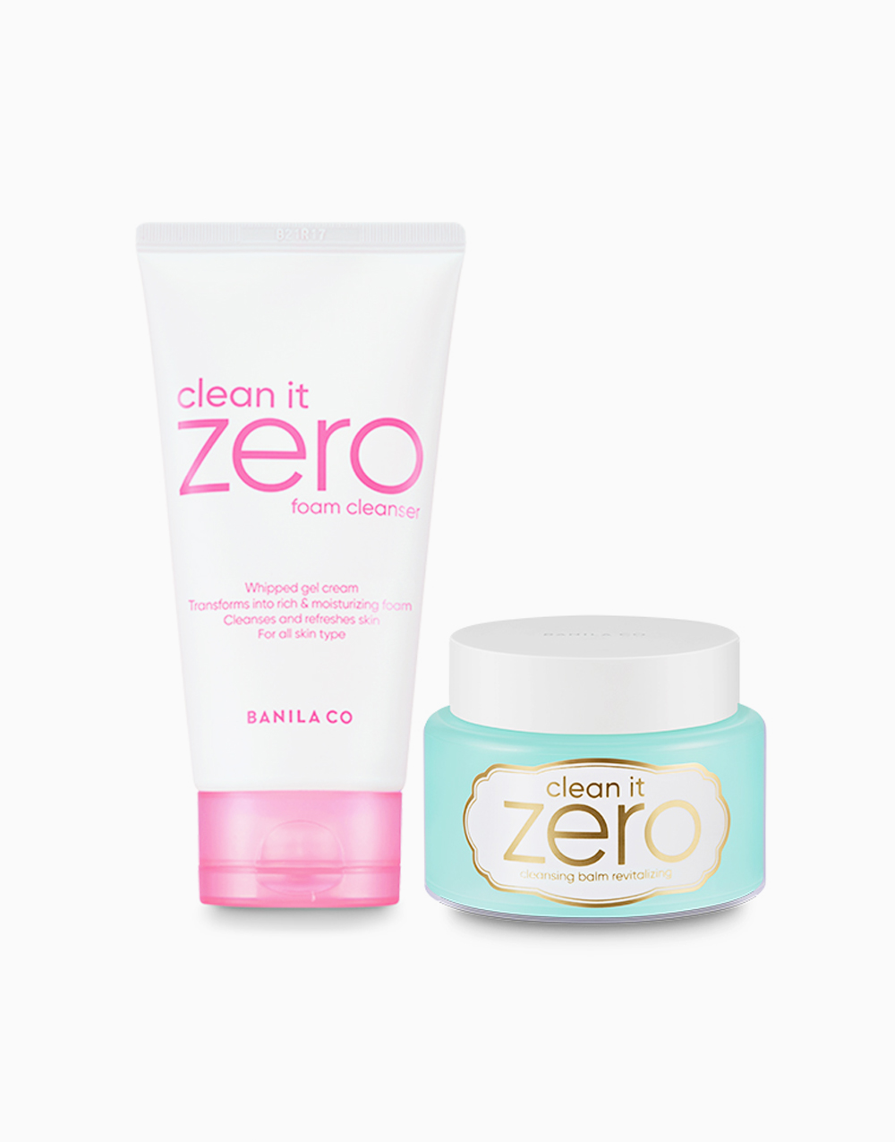 Clean It Zero Double Cleansing Duo Macaron Edition (Revitalizing) by Banila Co.