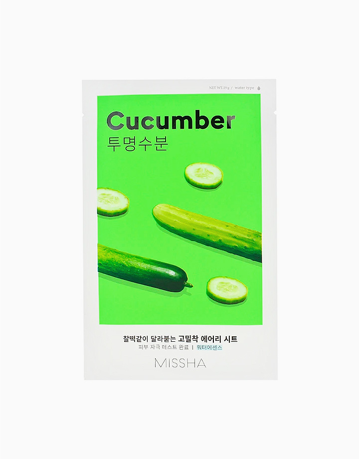 Airy Fit Sheet Mask by Missha | Cucumber