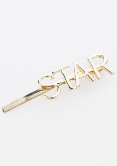 Star Statement Gold Clip by Adorn by MV