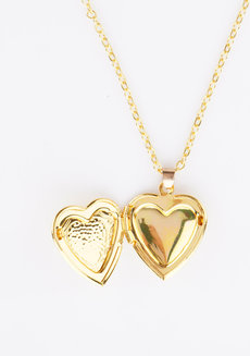 Ornate Heart Locket by Adorn by MV