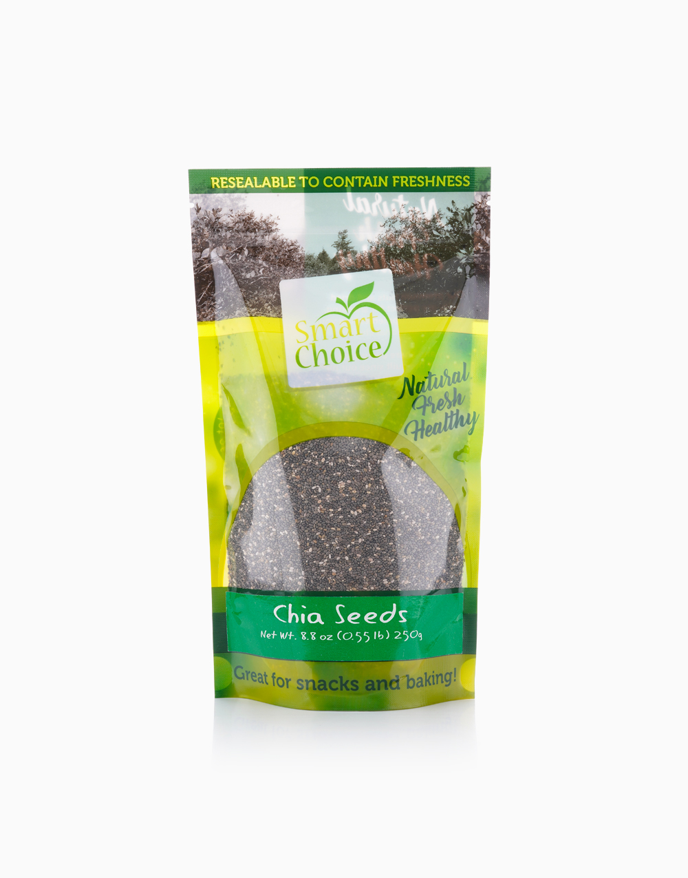 Black Chia Seeds (250g) by Smart Choice