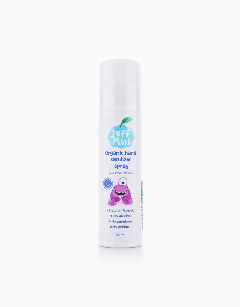 Organic Hand Sanitizer Spray (50ml) by Jeff & Mark