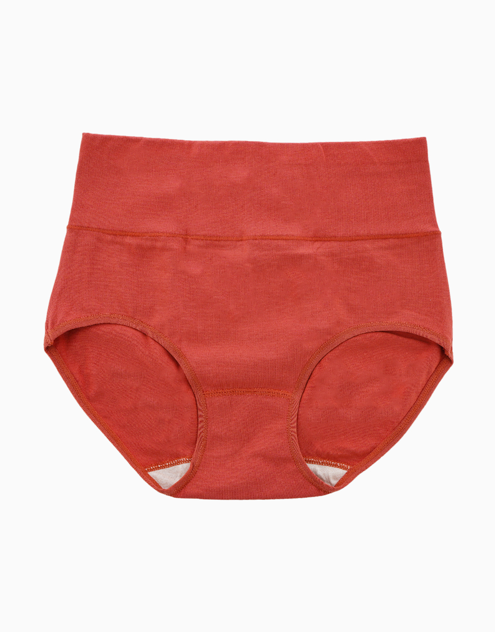 Belly Bikinis in Brick Red (Set of 3 High Rise Control Panties) by Jellyfit | XL