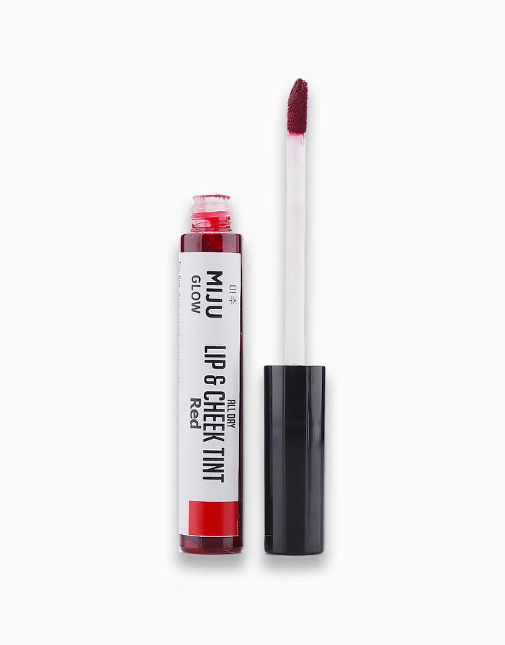 Lip and Cheek Tint by Miju Glow | Red