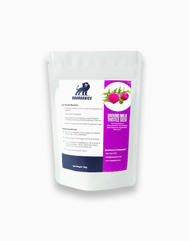 Ground Milk Thistle (100g) by Roarganics