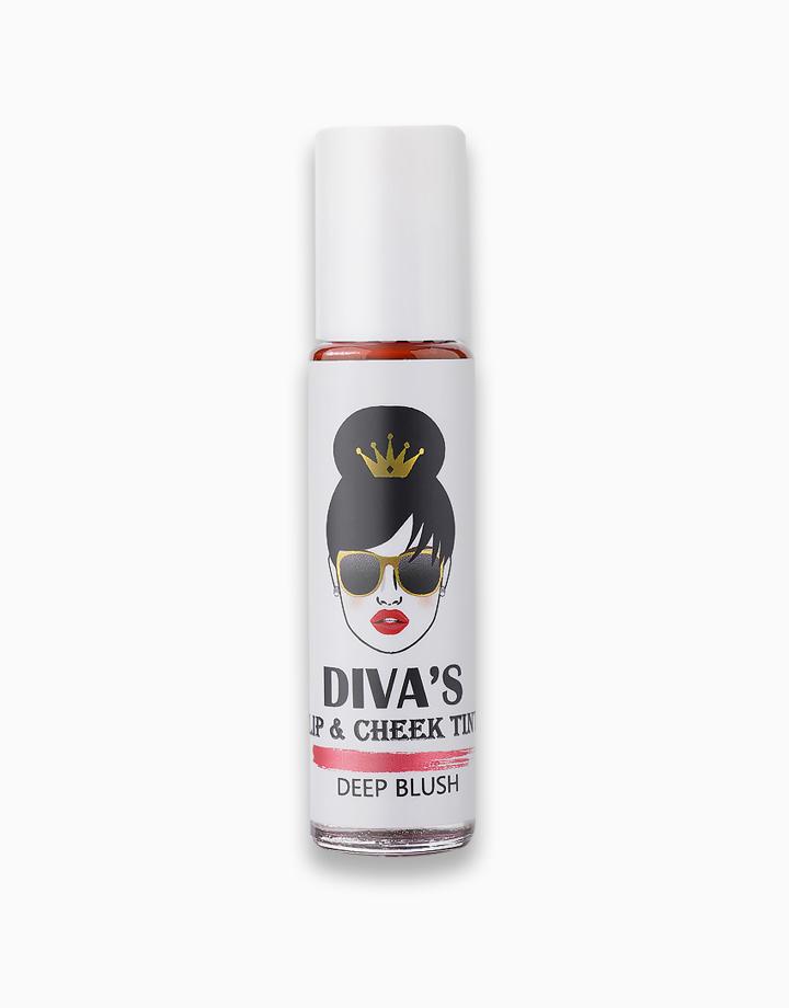 Lip & Cheek Tint by Diva White   Deep Blush