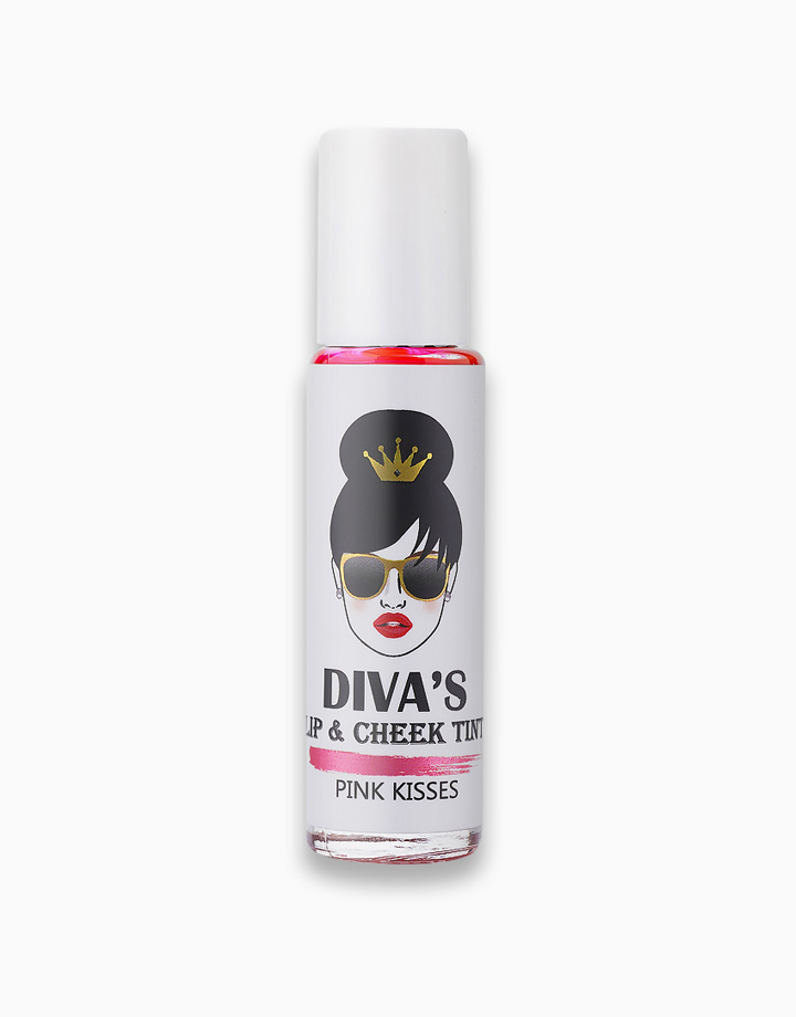 Lip & Cheek Tint by Diva White | Pink Kisses