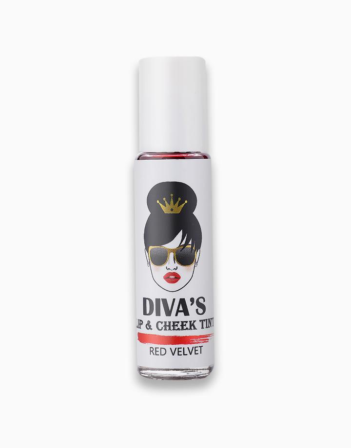 Lip & Cheek Tint by Diva White   Red Velvet