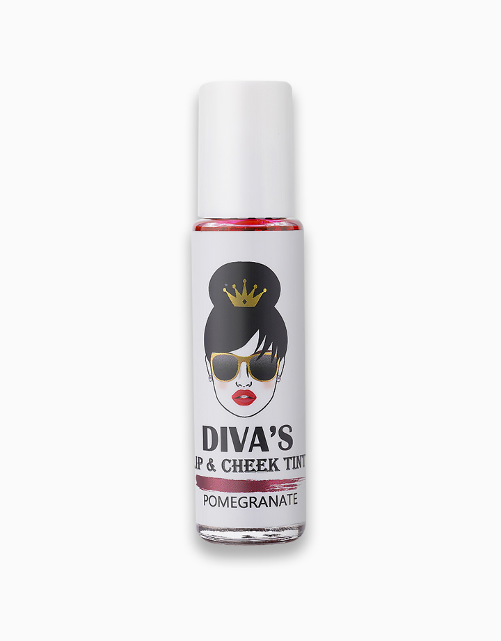 Lip & Cheek Tint by Diva White   Pomegranate
