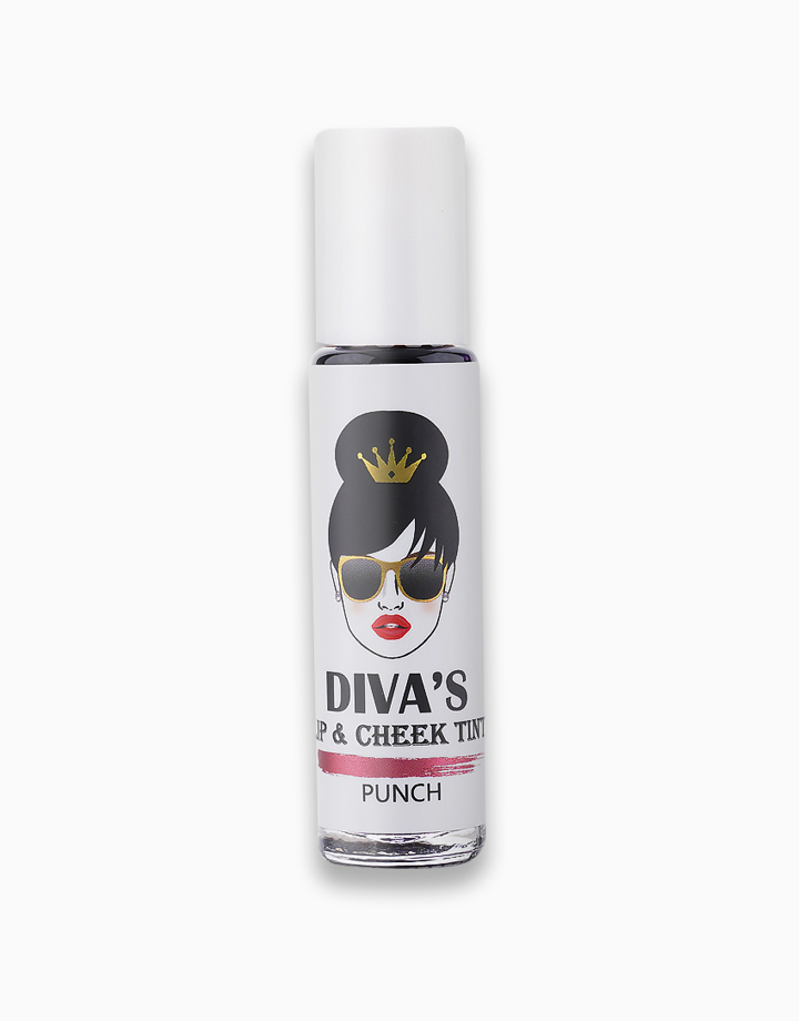 Lip & Cheek Tint by Diva White | Punch