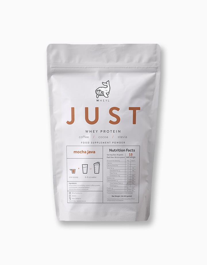 Just Mocha Java Whey Protein (454g) by Wheyl Nutrition Co.