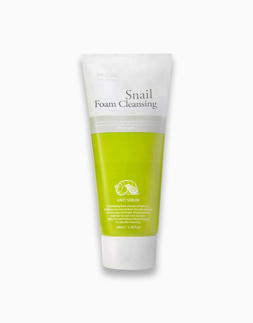 Snail Foam Cleansing by 3W Clinic