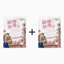 Rose Extract Goat's Pink Mask (Buy 1, Take1) by Bioaqua