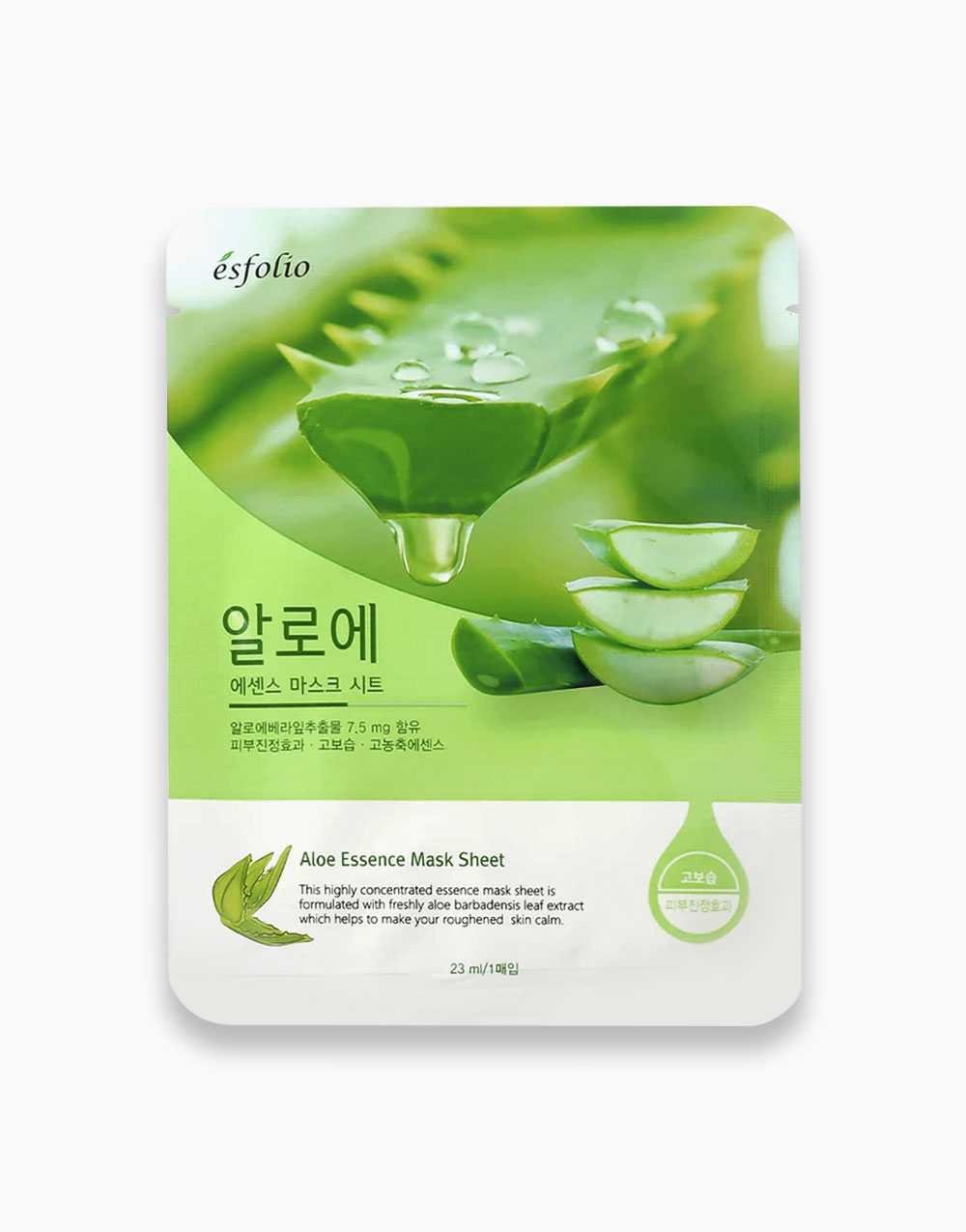 Aloe Essence Mask Sheet by Esfolio