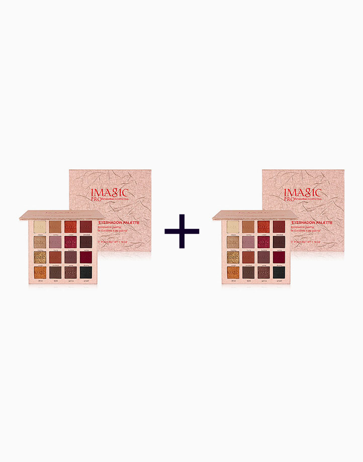 16-Color Eyeshadow Palette (Buy 1, Take 1) by Imagic