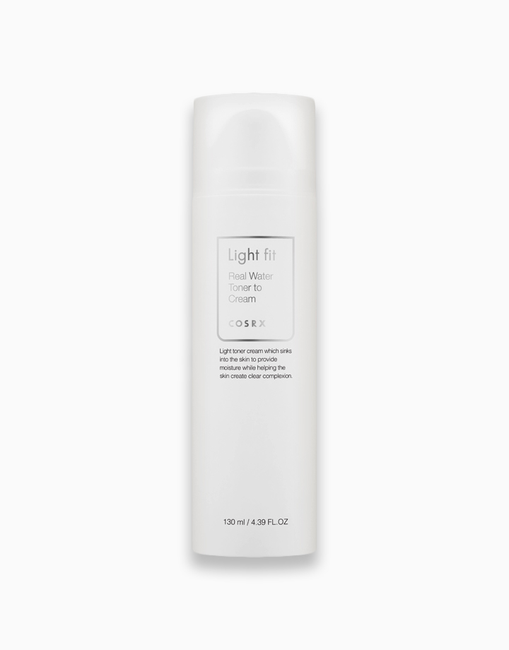 Light Fit Real Water Toner to Cream (Expiry: May 16, 2021) by COSRX