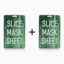 B1t1 kocostar cucumber slice face mask sheet