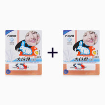 B1t1 novo cosmetics white rabbit lip balm orange