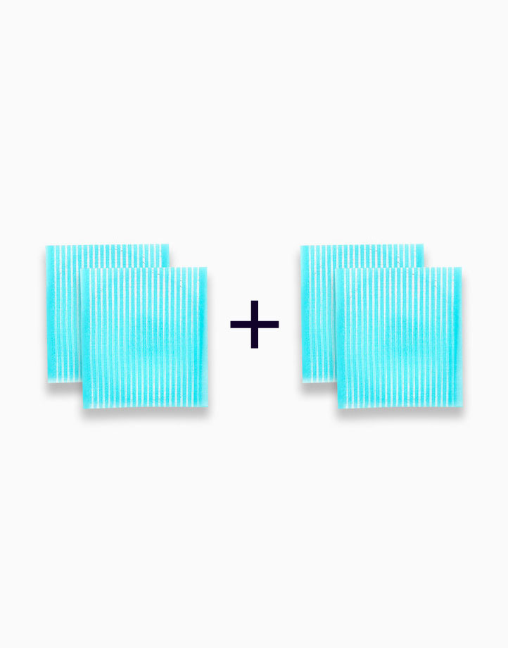Hair Velcro Pad Aqua (Buy 1, Take 1) by PRO STUDIO Beauty Exclusives
