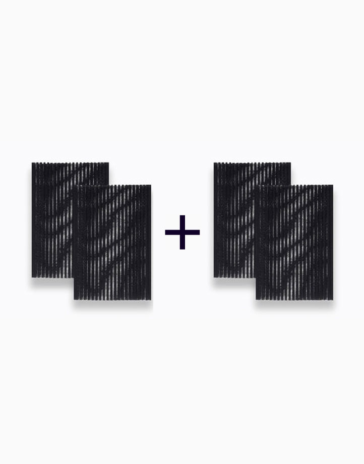 Hair Velcro Pad (Buy 1, Take 1) by PRO STUDIO Beauty Exclusives | Black