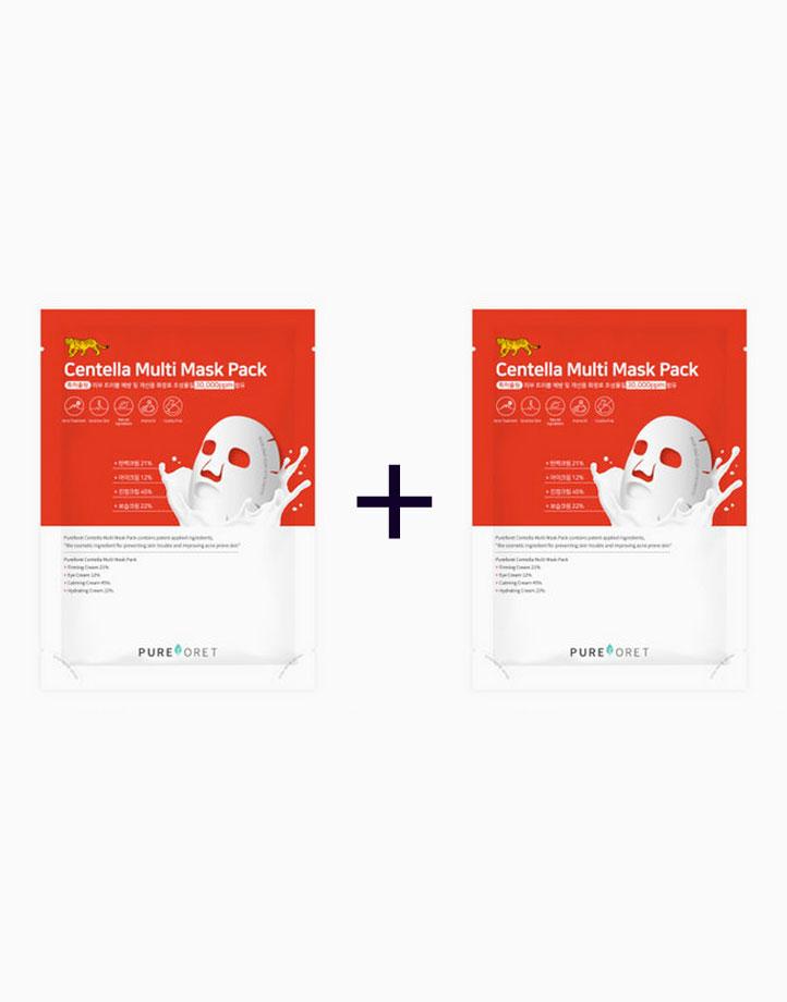 Centella Asiatica Multi Mask (Buy 1, Take 1) by Pureforet