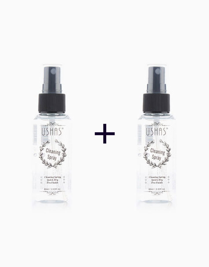 Makeup Remover Cleaning Spray (Buy 1, Take 1) by Ushas Cosmetics