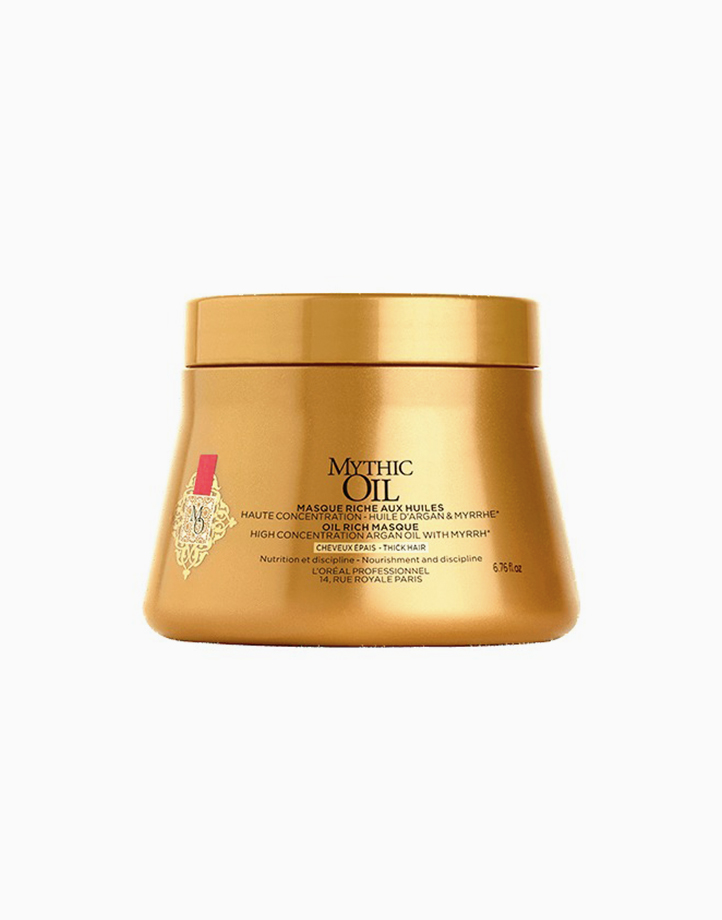 L'Oreal Mythic Oil Masque Thick Hair (200ml) by L'Oreal Professionnel