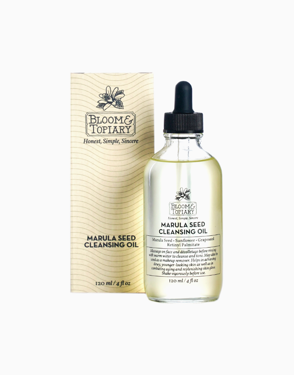 Marula Seed Cleansing Oil by Bloom & Topiary