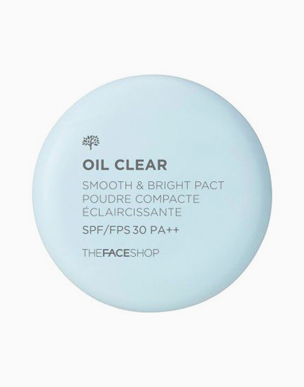 Oil Clear Smooth & Bright Pact SPF30 PA++ in N203 by The Face Shop