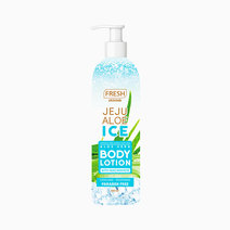 Fresh jeju body lotion mockup front