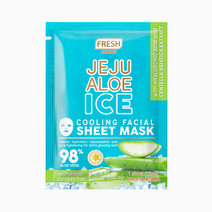 Jeju Aloe Ice Cooling Facial Sheet Mask by Fresh Philippines