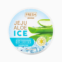 Fresh jeju soothing gel lotion 300ml mockup front