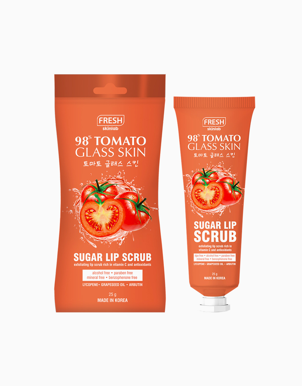 Fresh Skinlab Tomato Glass Skin Sugar Lip Therapy Scrub (25g) by Fresh Philippines