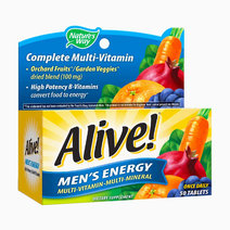 Alive! Men's Energy Multivitamin 50Tabs by Nature's Way