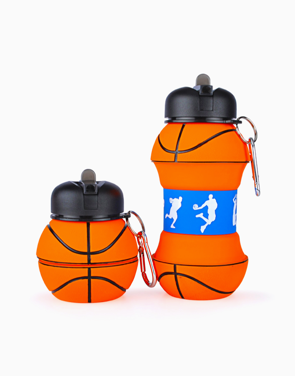 Collapsible Drinking Bottle (Basketball) by The Usuale