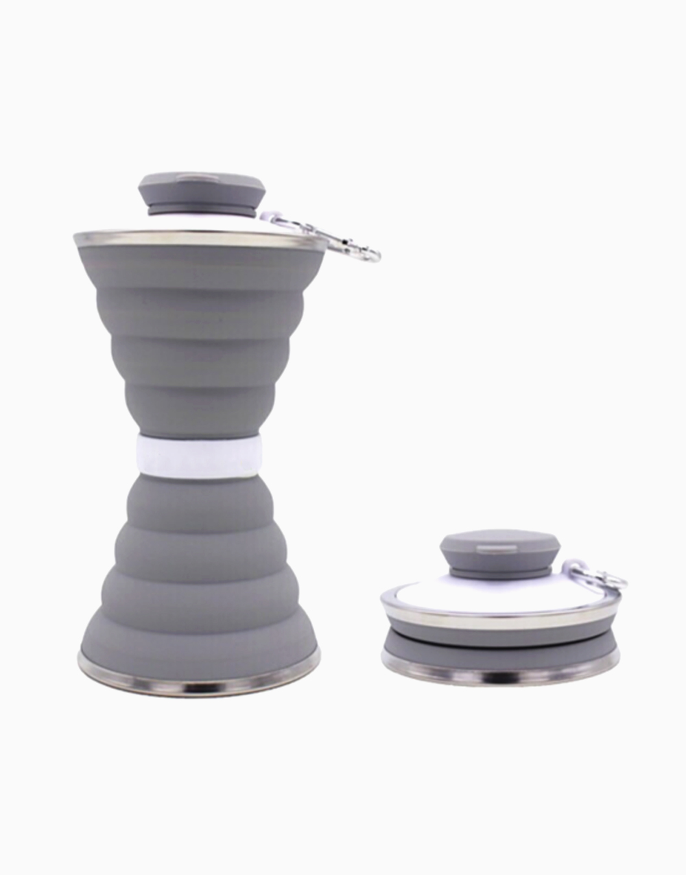 Collapsible Drinking Bottle by The Usuale | Gray