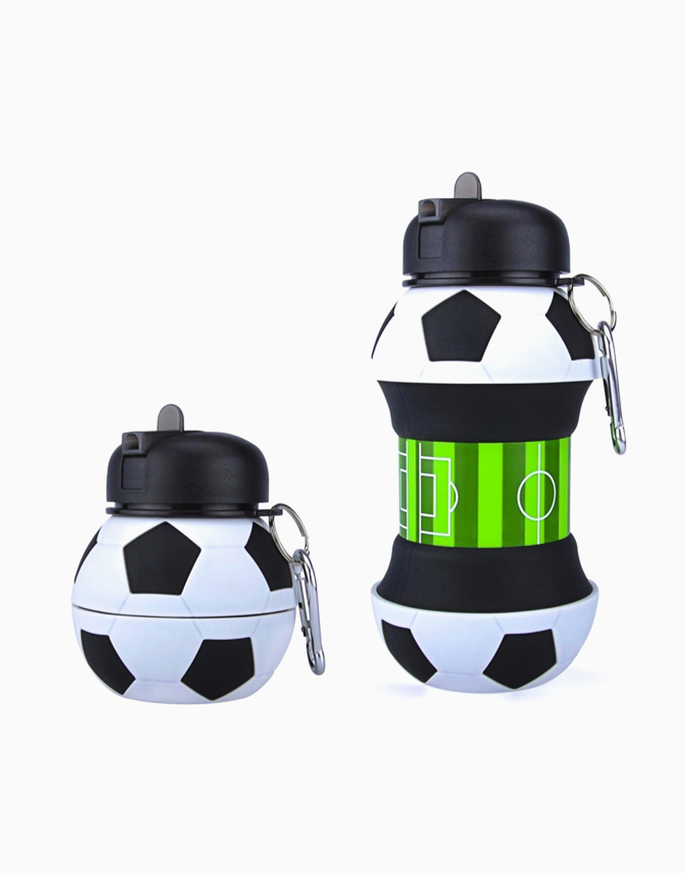 Collapsible Drinking Bottle (Soccerball) by The Usuale