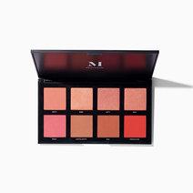 Morphe 8w warm master blush palette