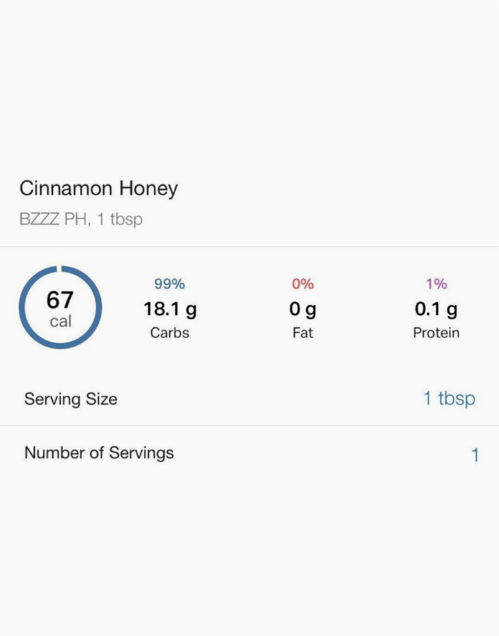 Cinnamon Honey (250ml) by Bzzz PH