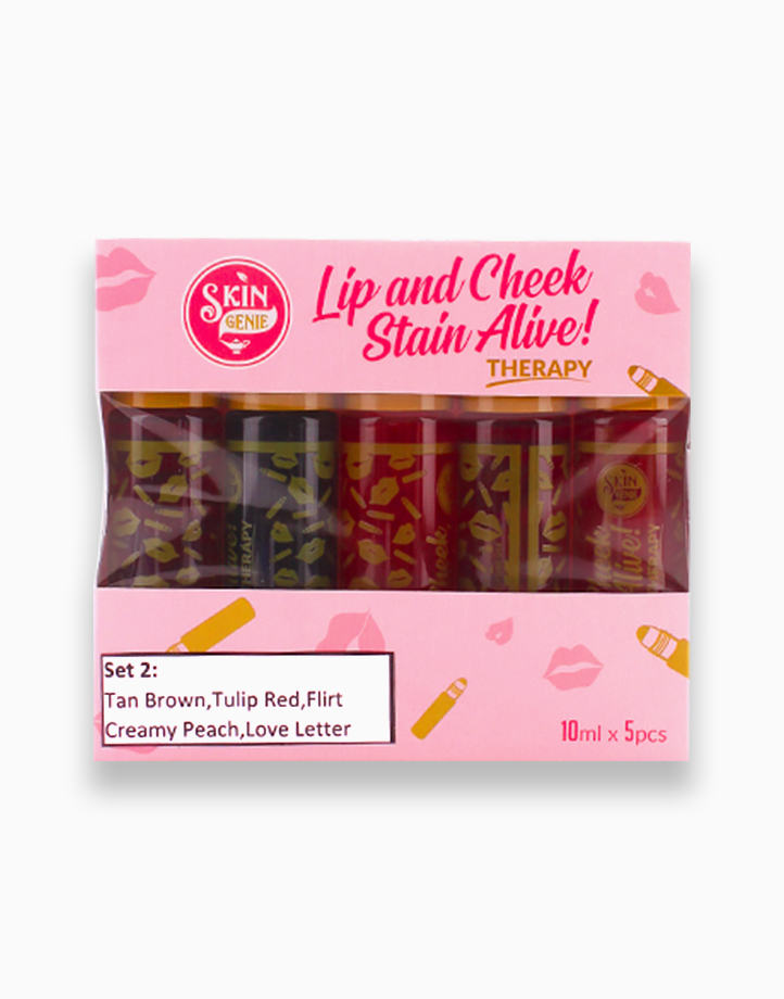 Lip and Cheek Stain Alive Therapy Set 2 by Skin Genie