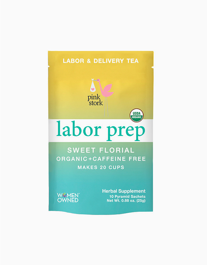 Labor Prep Tea: Labor and Delivery Tea, Sweet & Floral (20 Cups) by Pink Stork