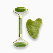 1 premium acu jade roller and gua sha duo set