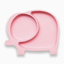 Sili elly silicone divided suction plate blush pink