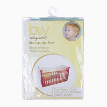 Babyworld crib net w zip opening